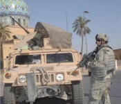 ManTech International won a $100.8 million contract to service military vehicles.